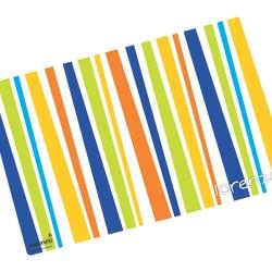 i0005 - Individual de mesa de papel - Rayas