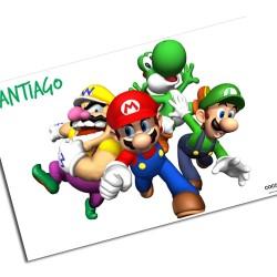 i0011 - Individual de mesa de papel - Mario