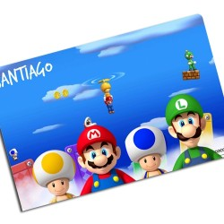 i0012 - Individual de mesa de papel - Mario