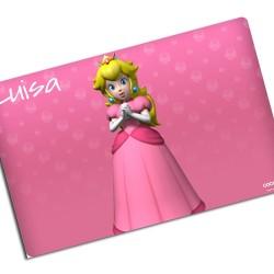 i0012 - Individual de mesa de papel - Princesa Peach