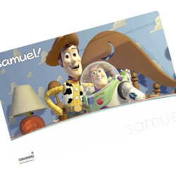 i0015 - Individual de mesa de papel - Toy Story
