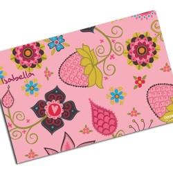 i0018 - Individual de mesa de papel - Fresas