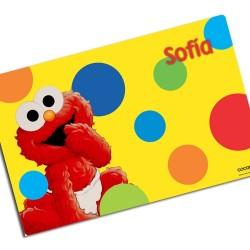 i0038 - Individual de mesa de papel - Elmo