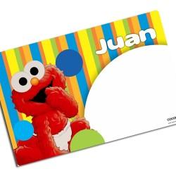 i0039 - Individual de mesa de papel - Elmo