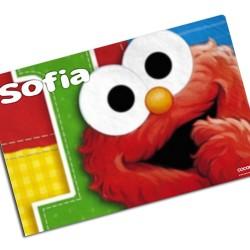 i0040 - Individual de mesa de papel - Elmo