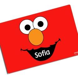 i0041 -Individual de mesa de papel  - Elmo