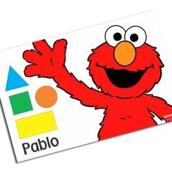 i0042 - Individual de mesa de papel - Elmo