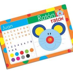 i0045 - Individual de mesa de papel - Ratón
