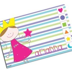i0081 - Individual de mesa de papel - Princesa
