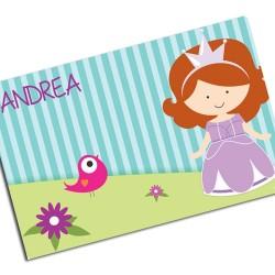 i0088 - Individual de mesa de papel - Princesa