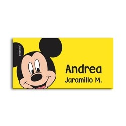 ea0115 - Self-adhesive labels - Mickey