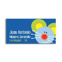 ea0049 - Self-adhesive labels - Mouse