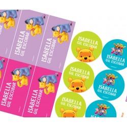 KE0092 - Kit Escolar - Winnie pooh