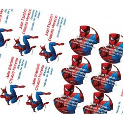 KE0102 - Kit Escolar - Spiderman