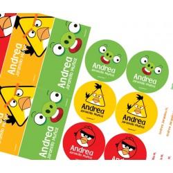 K0001 - Kit Escolar - Angry birds