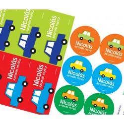 KE0013 C - Kit Escolar - Carros