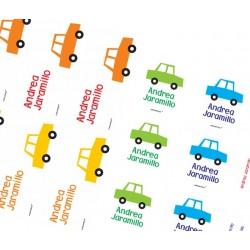 KE0013 BL - Kit Escolar - Carros