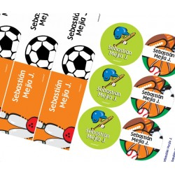 KE0024 - Kit Escolar - Deportes