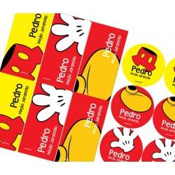 KE0029 - Kit Escolar  - Mickey