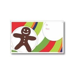 Tarjeta de navidad - Galleta