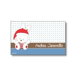 Tarjeta de navidad - Conejo