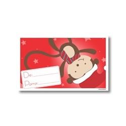 Tarjeta de navidad - Mico