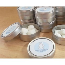caj0000 - Matte silver mint Tin x1 unit