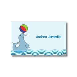 Label cards - seal