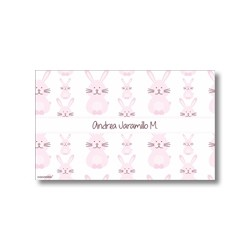 p1410 - Tarjetas de presentación -  Conejos