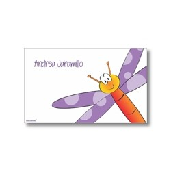 Label cards - dragonfly