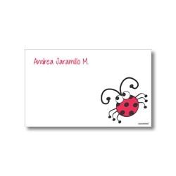 p2209 - Tarjetas de presentación - Mariquita
