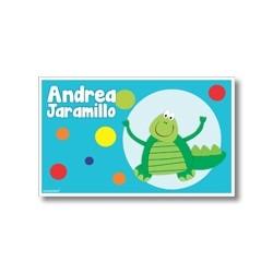 Label cards - crocodile