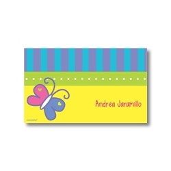 Label cards - butterfly