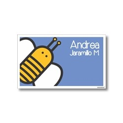 Label cards - bee