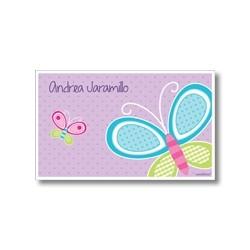 p4905 - Tarjetas de presentación - Mariposa