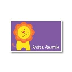 p5205 violeta - Tarjetas de presentación - León