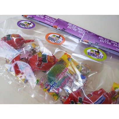 Toppers para bolsas de dulces