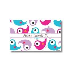 Label cards - Bird