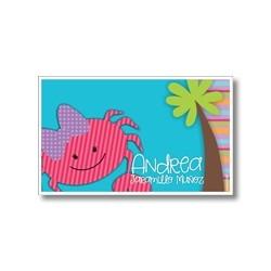 Label cards - Crab
