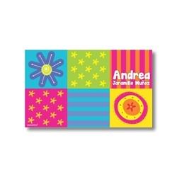 p3008 - Tarjetas de presentación - Flores