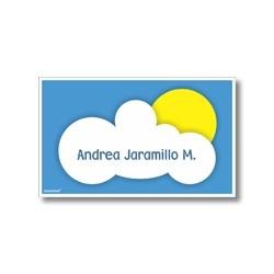 p3310 - Tarjetas de presentación - Nubes