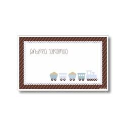 Label cards - train
