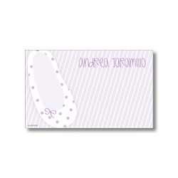 Label cards - ballet