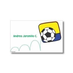 p0402 - Tarjetas de presentación - Fútbol