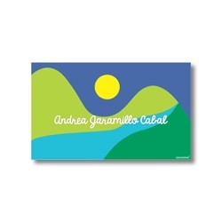 Label cards - landscape