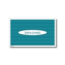 p0503 - Tarjetas de presentación - Rayas