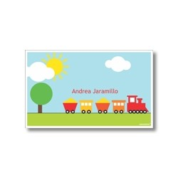 Label cards - train