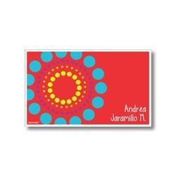 p3210 - Tarjetas de presentación - Flores