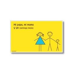 p3808 amarillo - Tarjetas de presentación - Familia