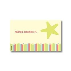 p4009 - Tarjetas de presentación - Estrellas